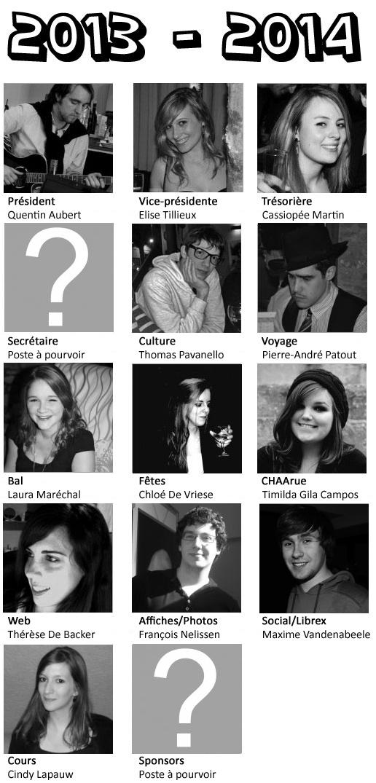 Comité 2013 - 2014