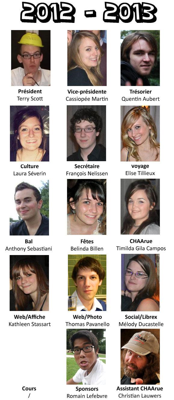 Comité CHAA 2012 - 2013