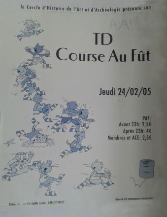 Course aux fûts 2005