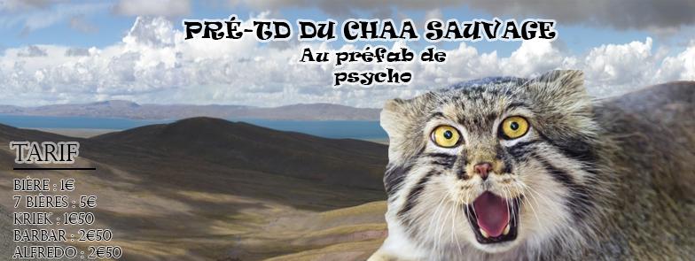 Permalien vers:Pré TD CHAA sauvage